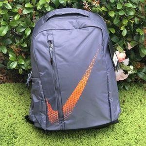 Nike Backpack Vapor Power Grey Orange🍊Unisex
